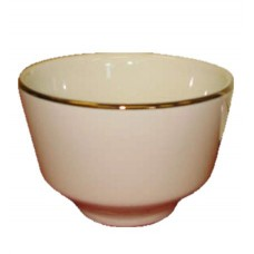 "3 3/4"" Ivory Bouillon Cup/Bowl"