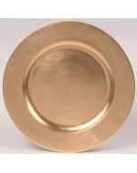 "12"" Gold Acrylic Charger"