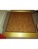 4'x4' Parquet (all weather) Dance Floor