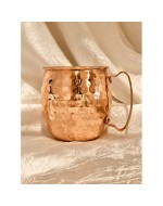 16oz Copper Mug, Moscow Mule, Hammered Copper