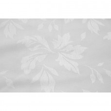 White Featherleaf Damask
