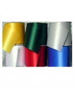 "4"" Satin Ceremonial Ribbon (per ft)"