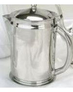 2 Quart Stainless Pitcher with Lid