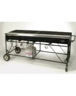 2' x 5' Propane Grill with Lava Rock