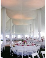 Center Pole Draping