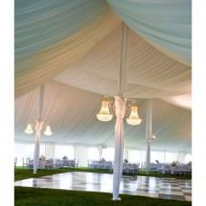 Tent Liners (Gathered White Material)